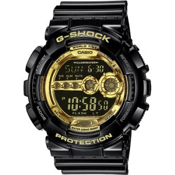 Uhr CASIO GD-100GB-1ER G-Shock Black and Gold Casio