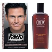 Just For Men - HAARTÖNUNGS- & SHAMPOO-SET - Farbung just for men