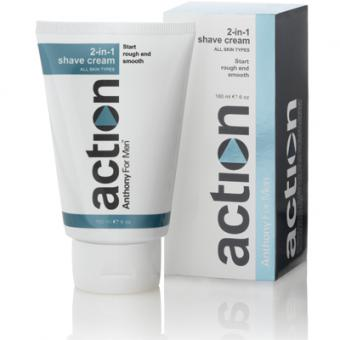RASIERCREME UND AFTER SHAVE CREME Anthony Action