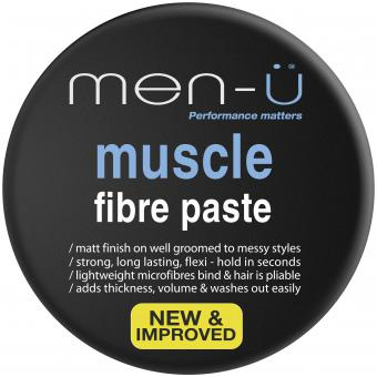 Men-ü - STYLING-CREME MUSCLE FIBRE PASTE - Haarpflege mann